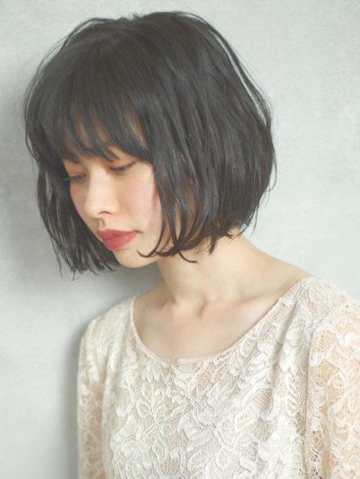 黒髪でも簡単に上級者☆2017シースルーニュアンスBOB